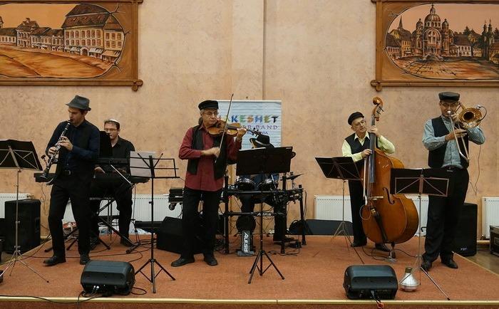 Concert Hakeshet Klezmer Band, la Sinagoga Zion