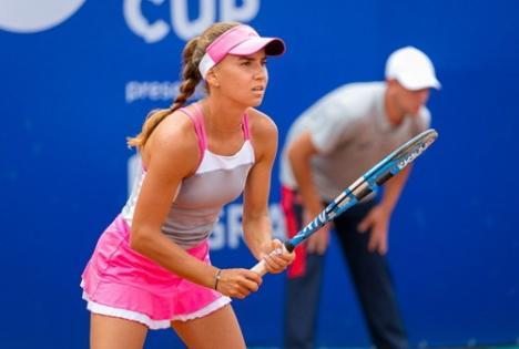 Printre aşi: Bihoreanca Irina Bara face parte din echipa olimpică de tenis a României, alături de Marius Copil