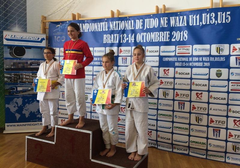 Două medalii pentru sportivele de la clubul Crişul la Finala Campionatului Naţional de Judo Ne Waza de la Ploieşti