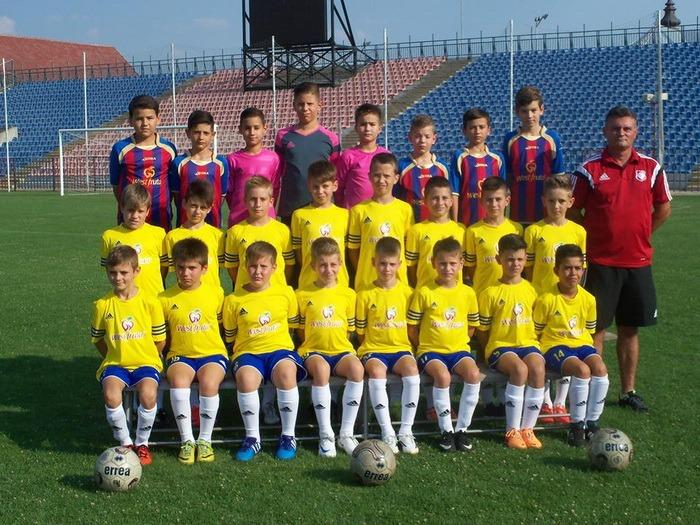 Echipa de 2005 de la FC Bihor a participat la turneul internaţional de la Timişoara, intitulat Leoparzii lui Moş Crăciun