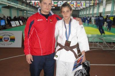 Larisa Florian, campioană europeană de judo cadeţi!
