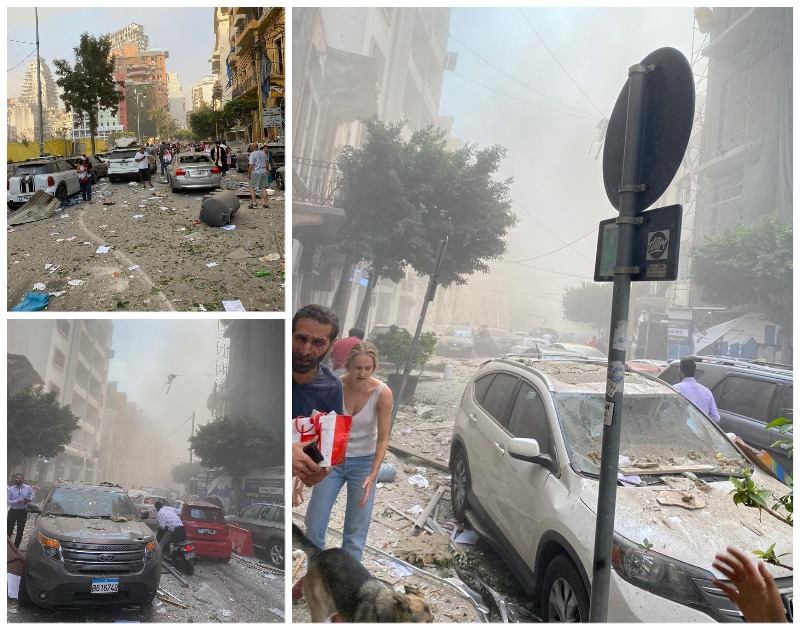 sursa foto: Facebook / Romanians in Lebanon