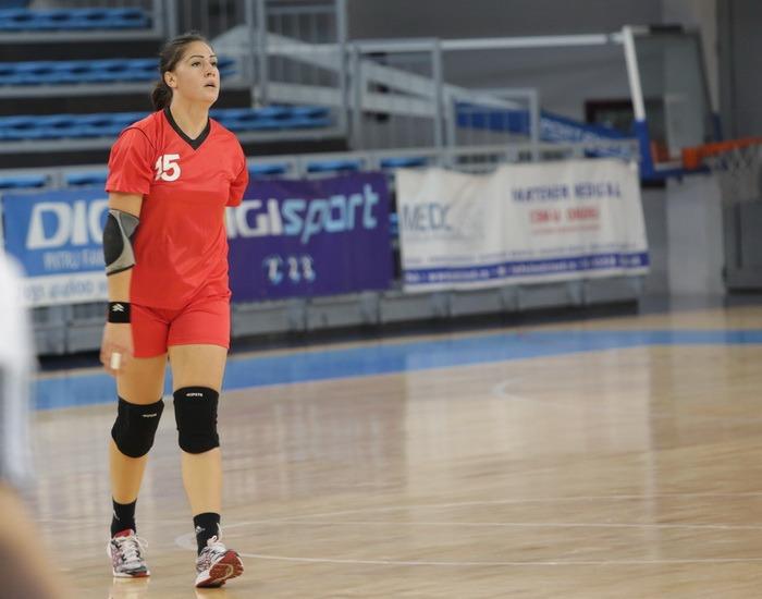 Echipa orădeană de handbal feminin are o jucătoare la lotul naţional de tineret