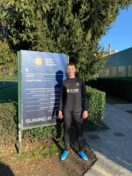 Tânărul fotbalist orădean Luca Popa, în teste la Inter Milano