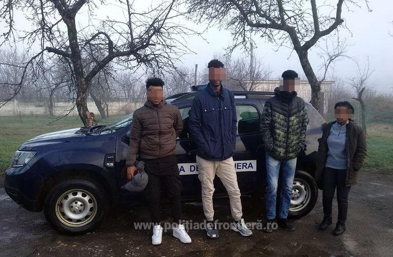 Patru etiopieni în Tărian: Voiau să treacă ilegal graniţa