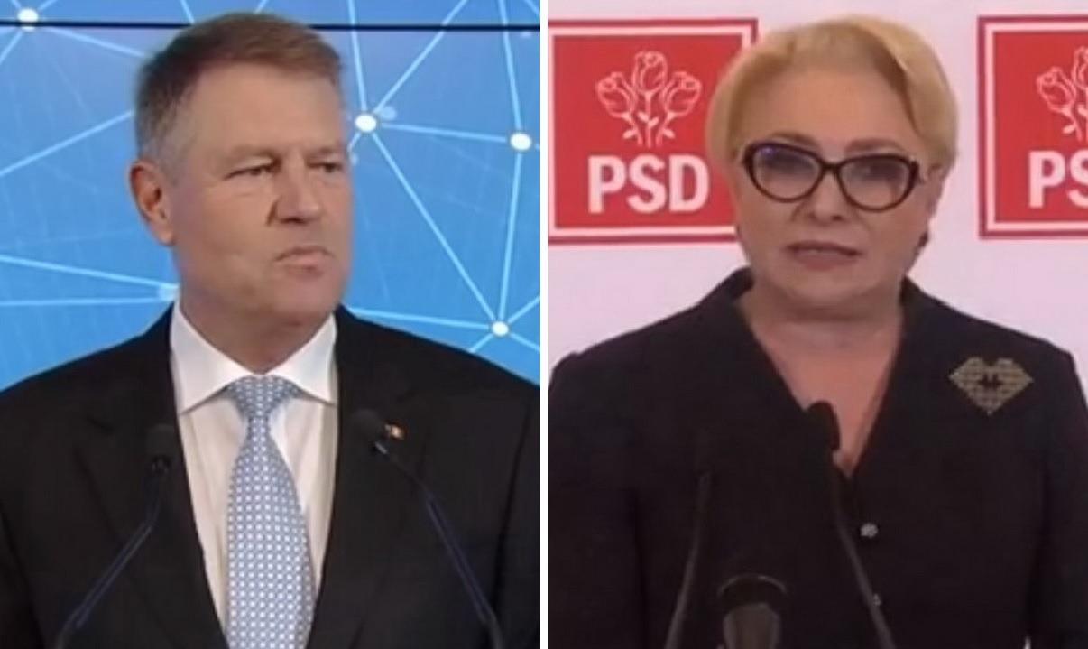 Candidaţii la Preşedinţie au dezbătut de la distanţă. Iohannis şi Dăncilă s-au băutut în conferinţe de presă diferite (VIDEO)