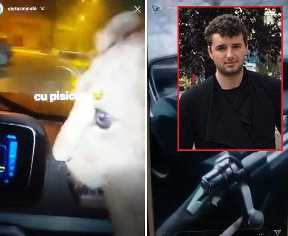 Victoraş Micula, filmat cu un pui de leu şi cu puşca cu lunetă în maşină. Poliţiştii fac cercetări pentru braconaj, Micula se dă victima unui hacker (VIDEO)