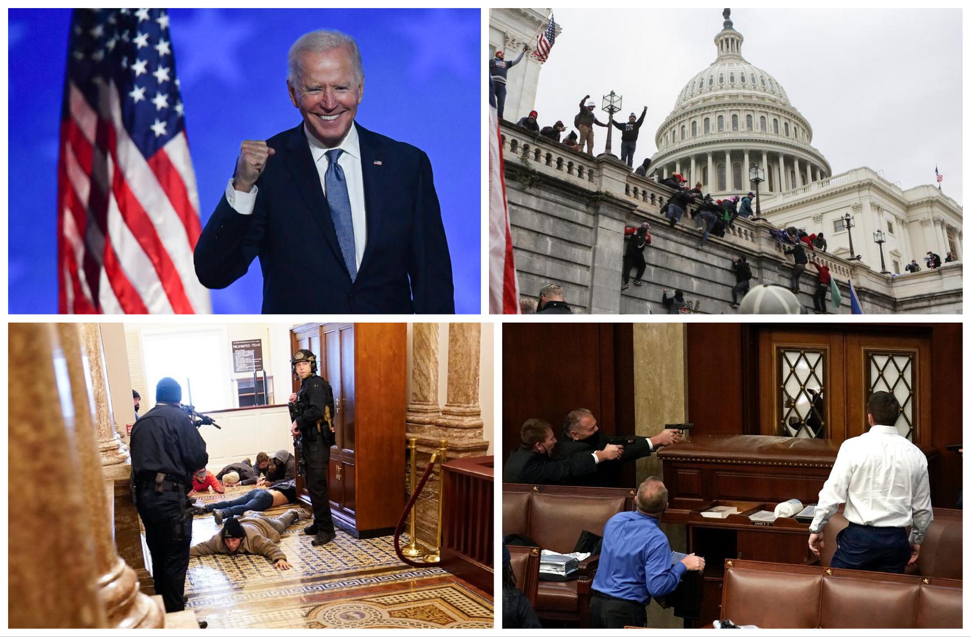 Joe Biden, confirmat președinte al SUA. Cel puțin patru oameni au murit și 14 au fost răniți în timpul violențelor din clădirea Capitoliului (VIDEO)