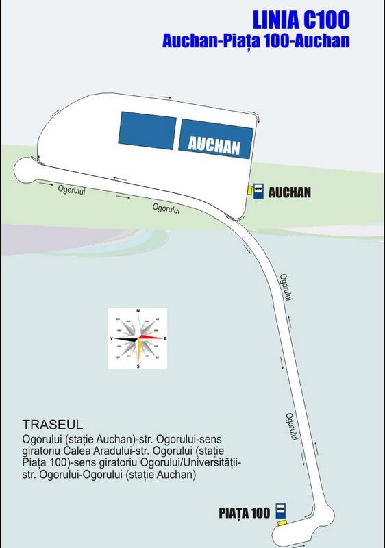 OTL anunţă înfiinţarea unei linii de autobuz spre Piaţa 100