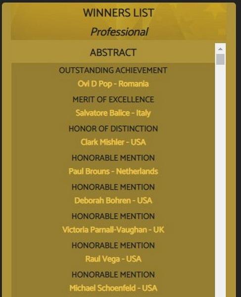 Medalie de aur pentru fotograful Ovi D. Pop la competiția din Los Angeles International Color Awards