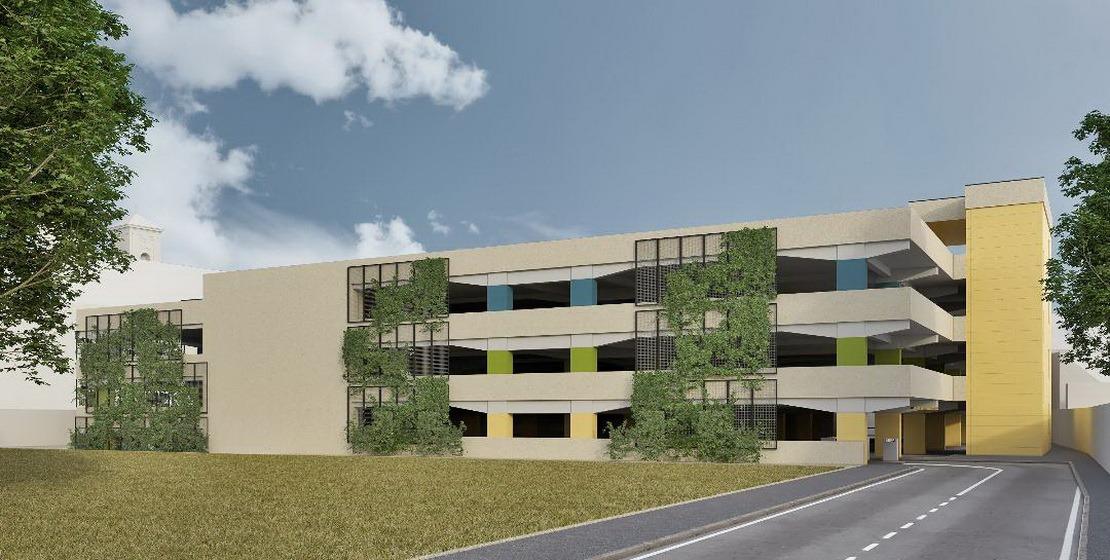 Construcţii Bihor va ridica parcarea etajată de pe locul stadionului Voinţa (FOTO)