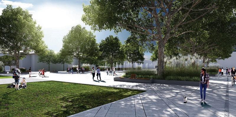 Cartierul Ioşia va avea propriul centru, în formă de piaţetă, în spatele sălii Antonio Alexe (FOTO)