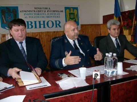 Poliţia de frontieră s-a reorganizat: Inspectoratul Oradea a preluat întreaga frontieră cu Ungaria