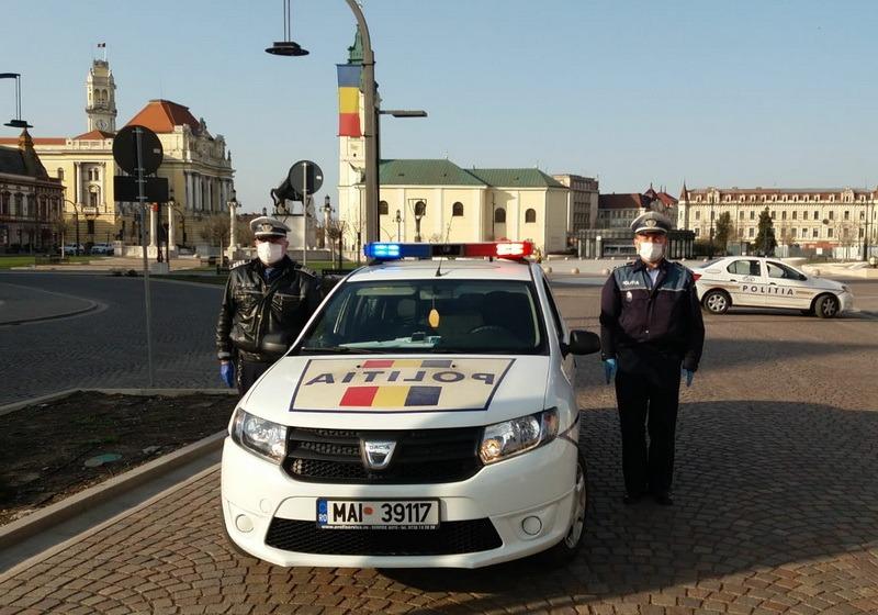 Deşteaptă-te, române! Imnul României răsună din maşinile de Poliţie inclusiv în Oradea (VIDEO)
