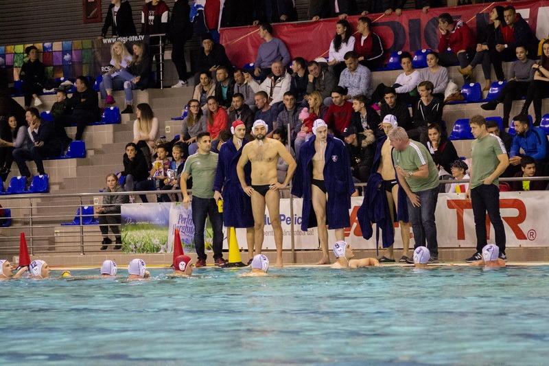 Polo: CSM Oradea s-a impus cu 12-9 în prima manşă a confruntării cu spaniolii de la CN Mataro