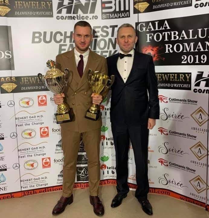 George Puşcaş a fost declarat fotbalistul român al anului 2019