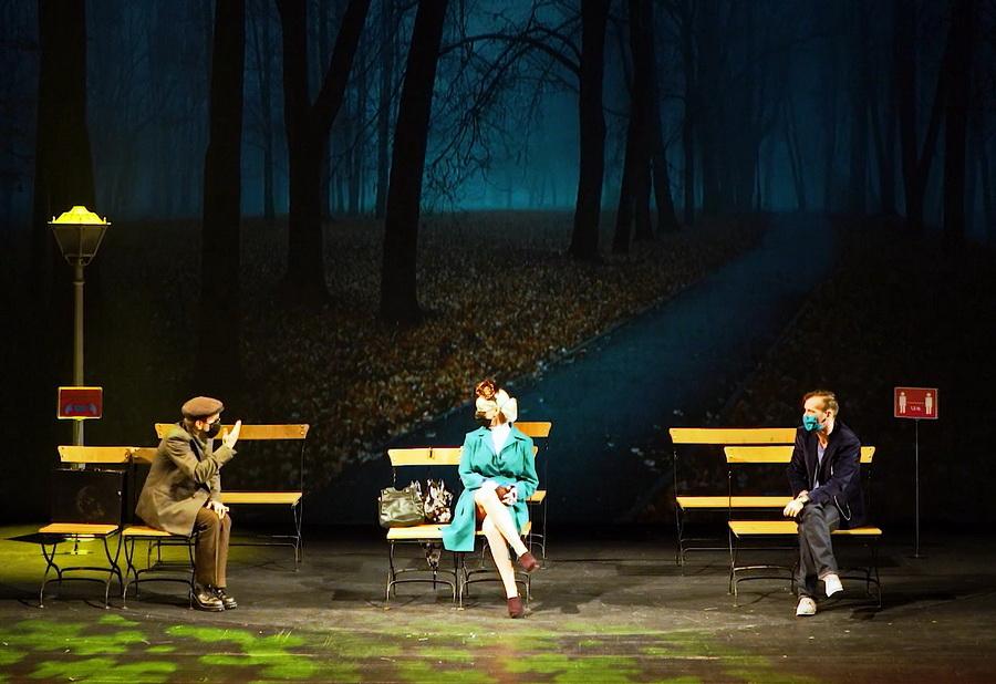 Premieră la Teatrul Regina Maria: Preludiu cu fugă, un spectacol de teatru absurd