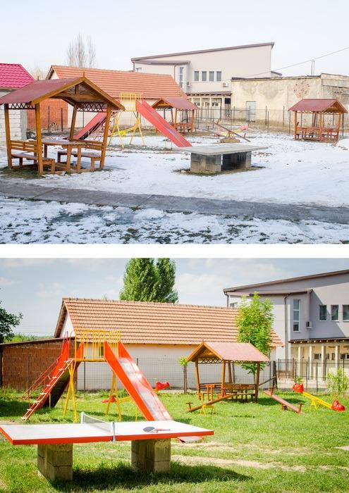 Centrul de zi Prietenia din Popeşti, umplut cu... căni de fericire (FOTO)