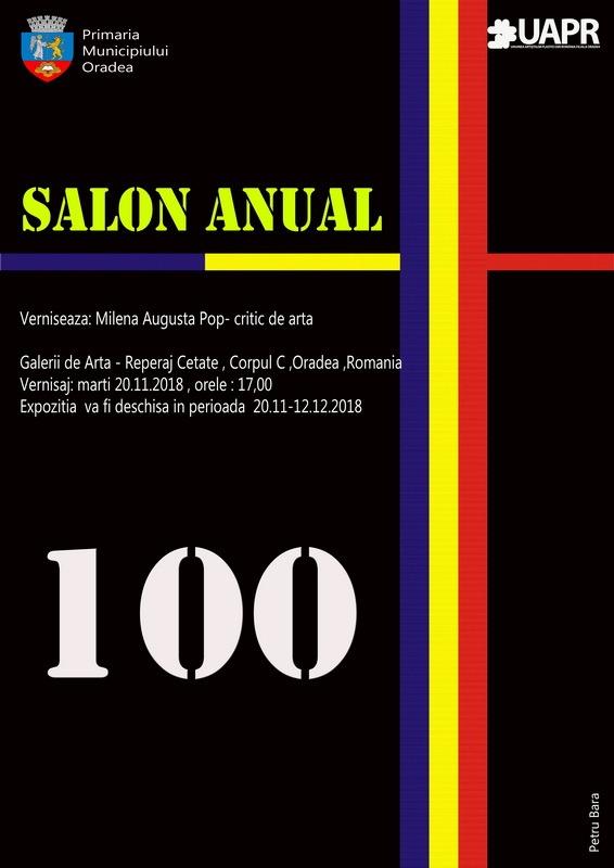100 Salon Anual: Expoziție cu picturi, sculpturi, instalații și grafică, la Galeriile de Artă - Reperaj