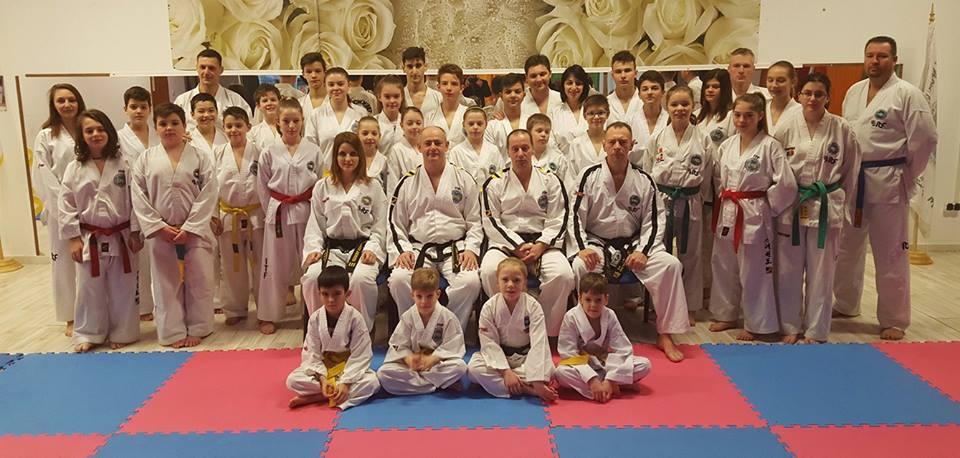 Seminar național tehnic și de arbitraj de sporturi marțiale coreene la Oradea