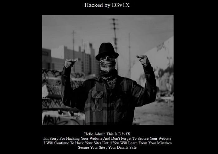 Site-ul Inspectoratului Şcolar Bihor, spart de hackeri