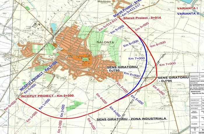 Se caută bani pentru construirea unei şosele de centură la Salonta