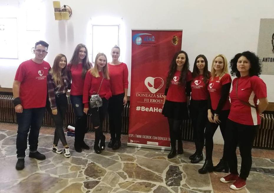 Donează sânge, fii erou! Studenţii Medicinişti îndeamnă bihorenii să își ajute semenii