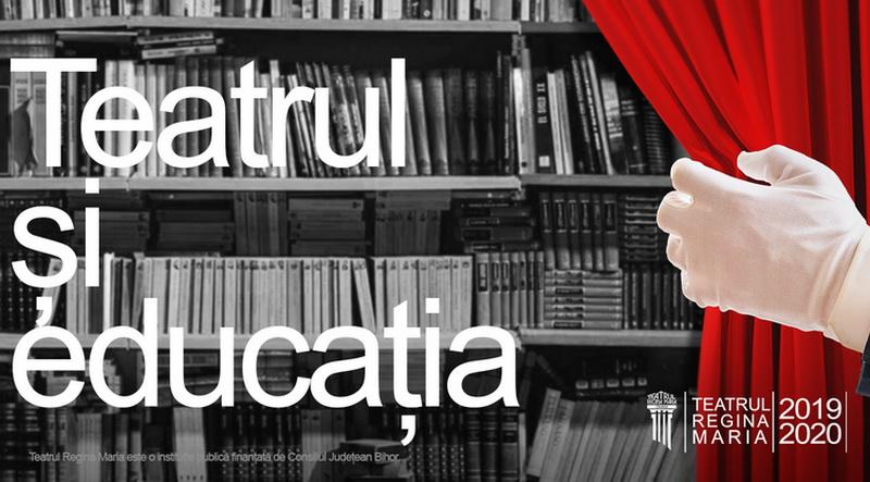 Teatrul şi educaţia: Ca să-i ajute pe elevii din Bihor, actorii Teatrului Regina Maria se vor filma citind opere precum Moromeții și Iona