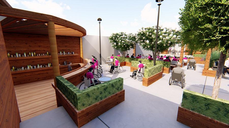 Grădina tuturor tinerilor: Centrul The Spot va amenaja primul parc din Oradea adaptat pentru persoanele cu dizabilităţi (FOTO / VIDEO)