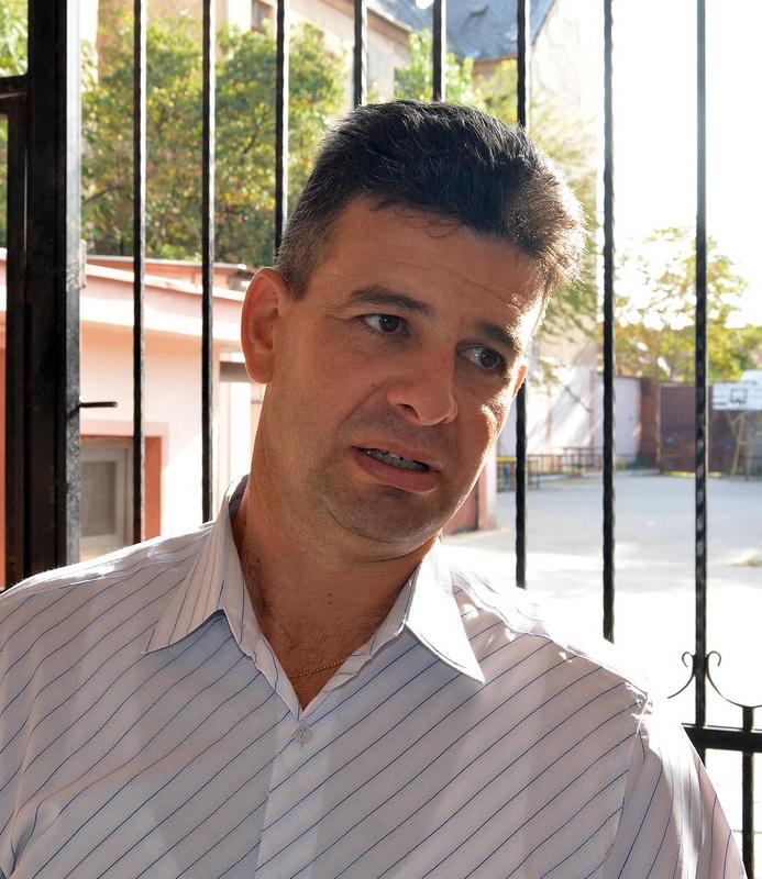 Tiberiu Sincelean, director Liceul George Baritiu