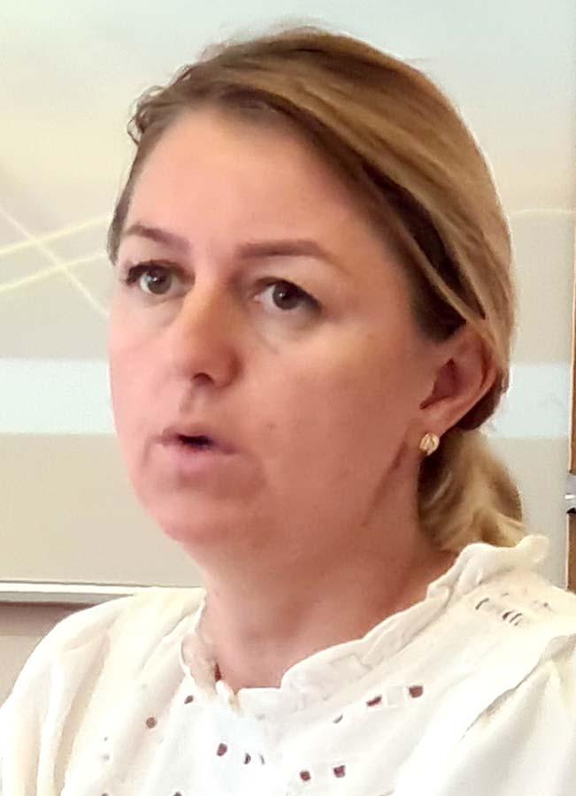 profesoara Delia Mela, fondatoarea asociaţiei Pro-Timer din Oradea