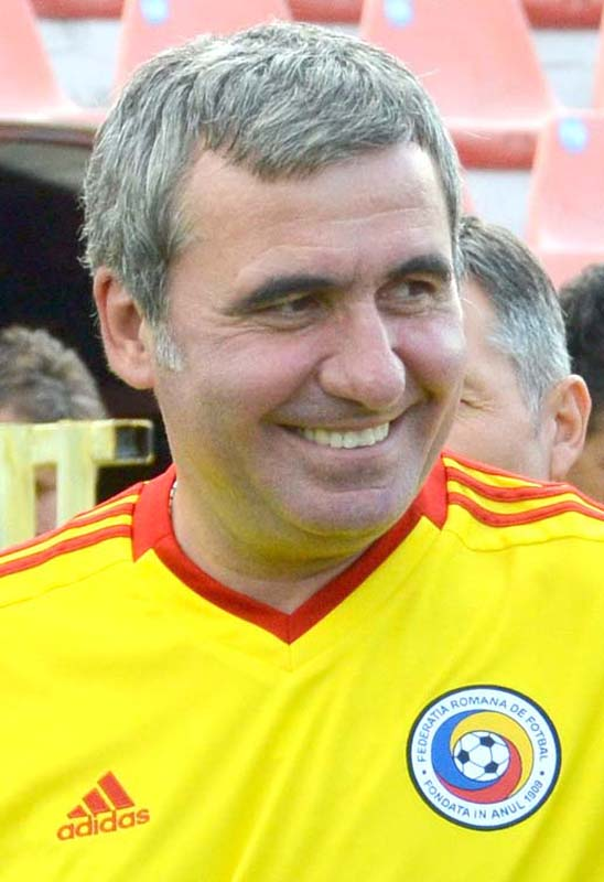 fotbalistul Gheorghe Hagi