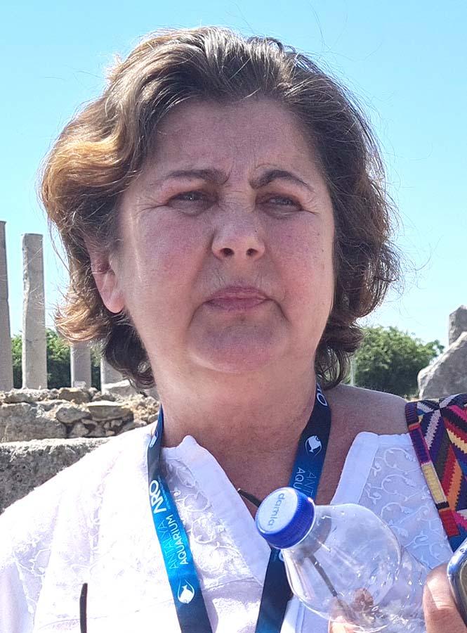 Maria Ozbilgin, ghid turistic atestat Antalya
