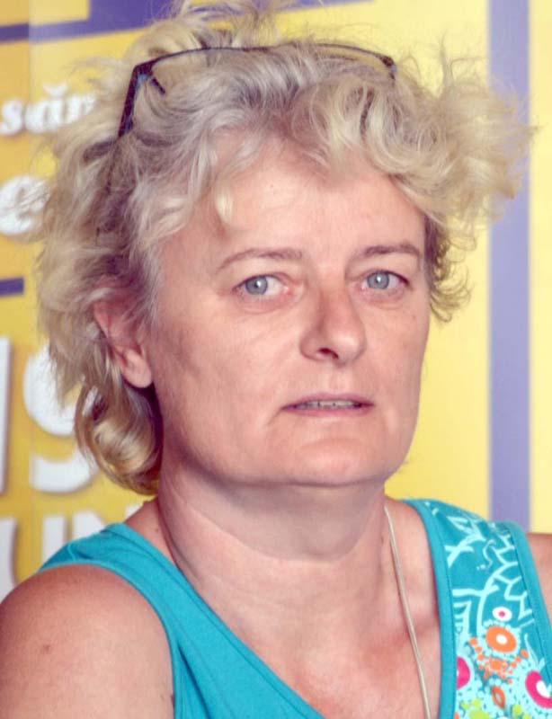 Ida Pázmán (foto), artist popular care deţine Casa Meşteşugărească din Cetate