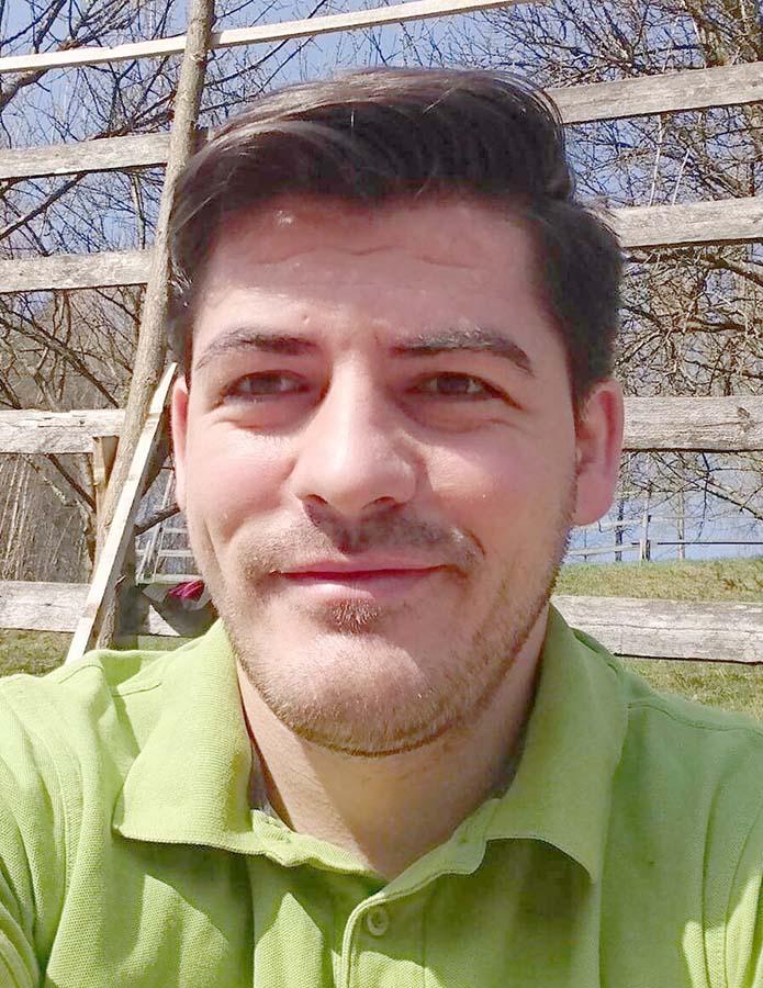 Ionuț Coman, voluntar eco