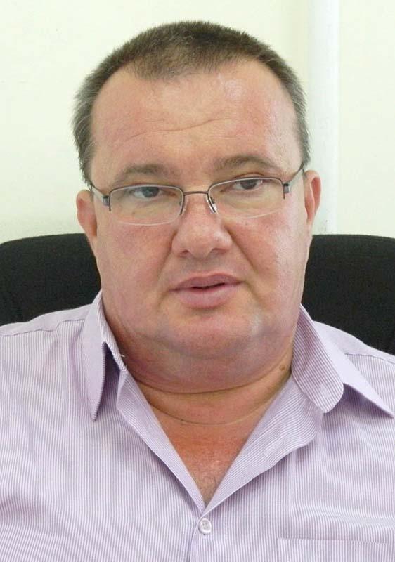 Mircea Stejeran, şef serviciu în cadrul Direcţiei Tehnice din Primărie.