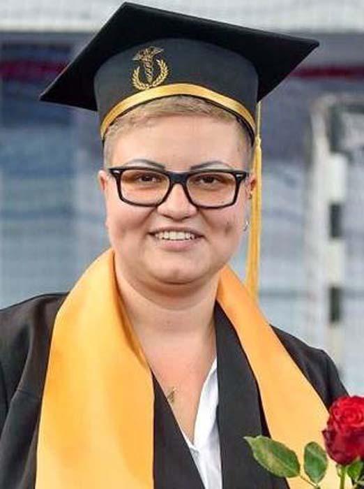 Anamaria Făcăleț, medic rezident Oradea