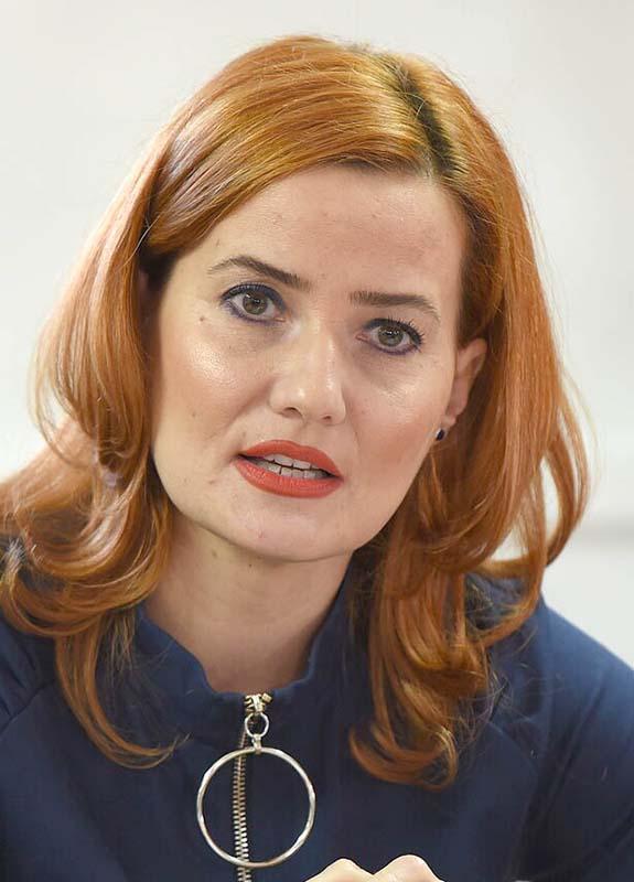Arina Moș, șefa DASO Oradea