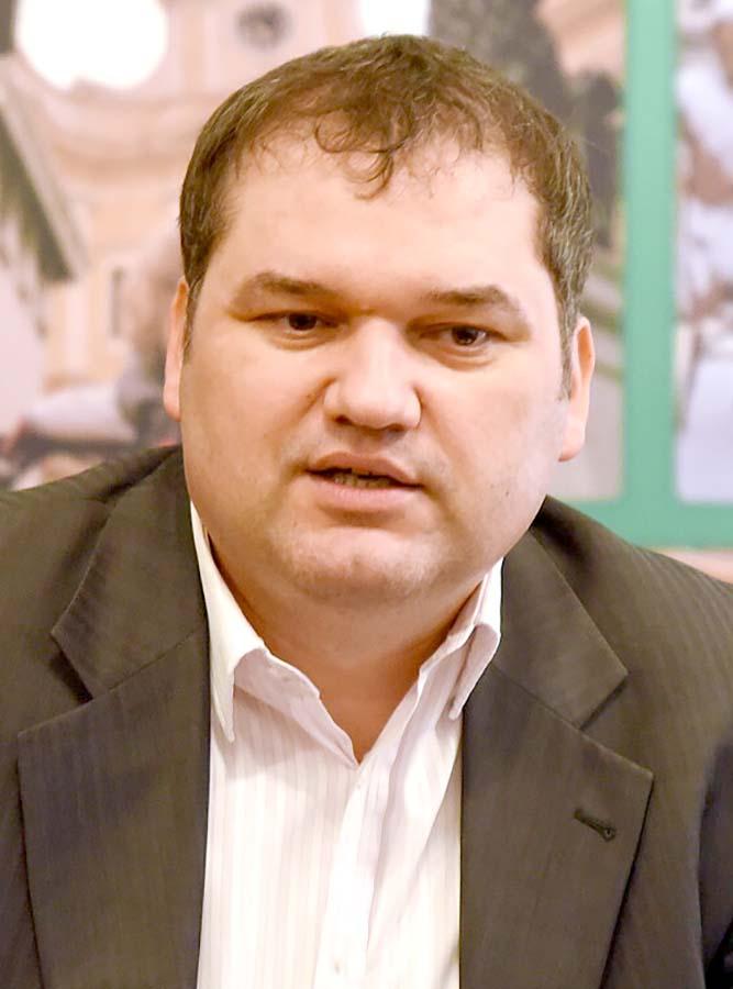 Cseke Attila, președintele UDMR Bihor