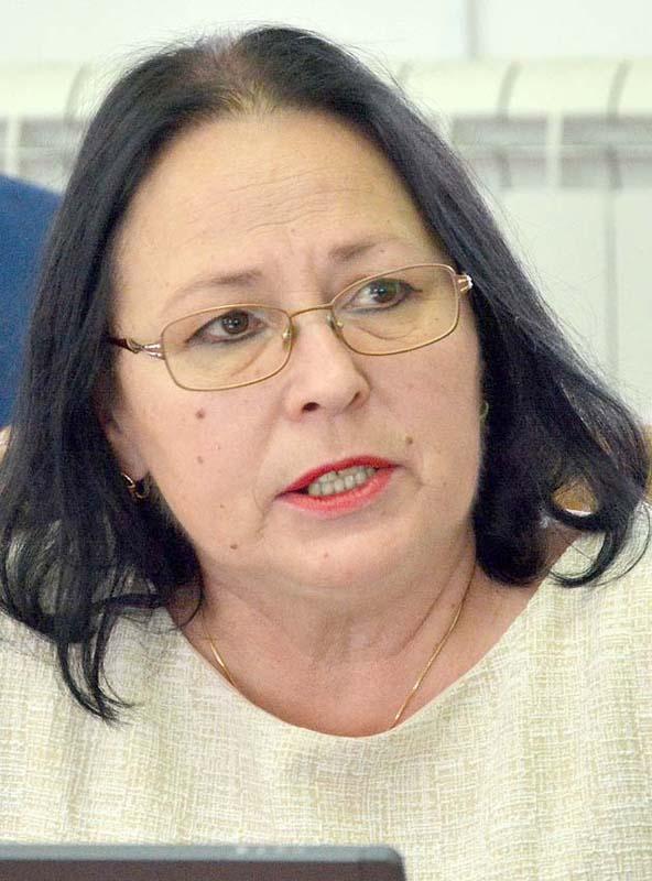 Daniela Rahotă, şefa Direcţiei de Sănătate Publică Bihor