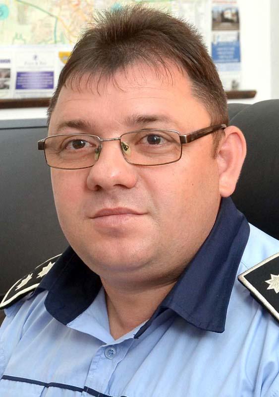 Ioan Găluț, directorul adjunct al Poliției Locale Oradea