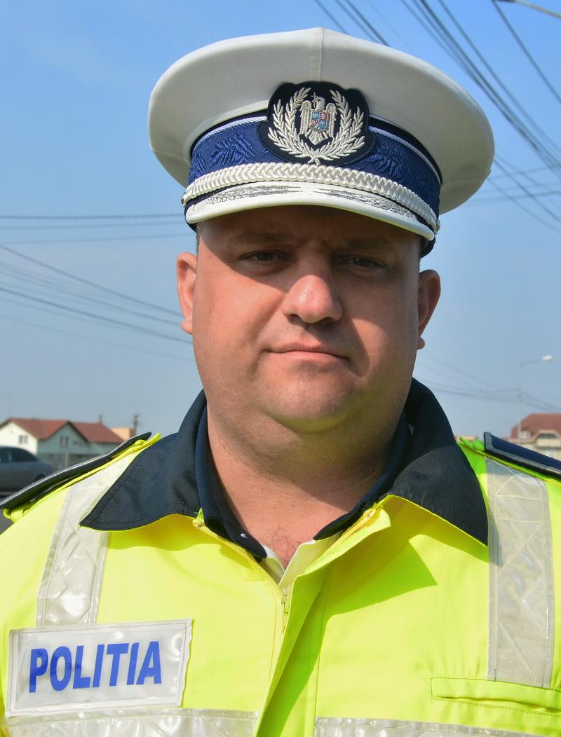 şeful Poliţiei Rutiere Oradea, comisarul Alin Gherman
