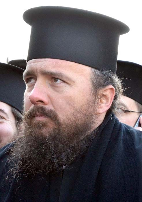 Mihail Tărău, stareţul Mănăstirii Izbuc
