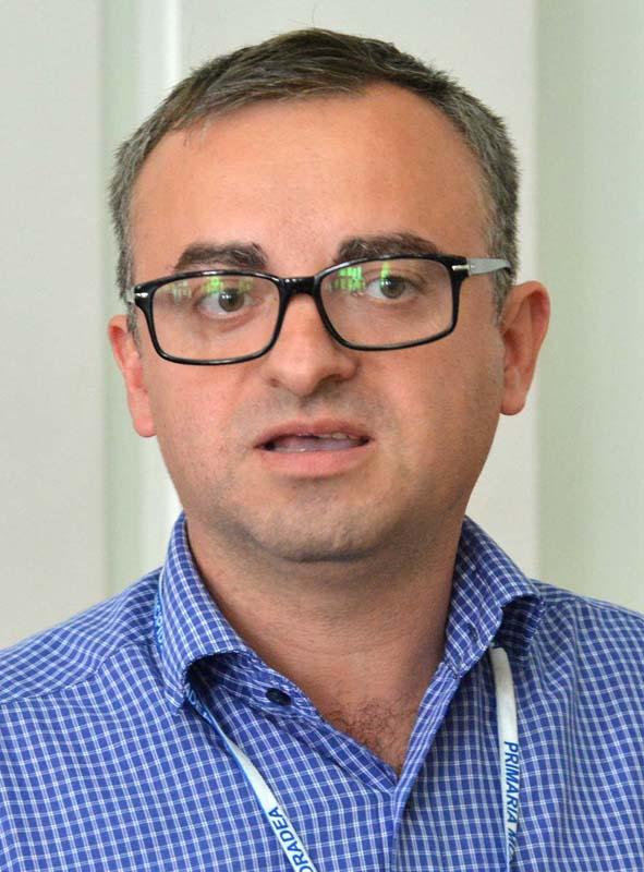 Marius Moș, șef Direcția de proiecte europene Primăria Oradea