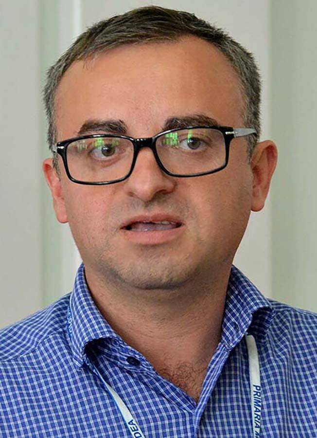 Marius Moș, șeful Direcției de Management Proiecte cu Finanțare Internațională