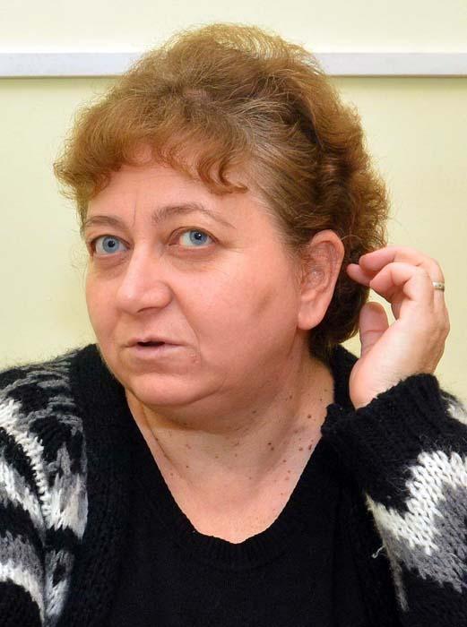 preşedinta Asociaţiei de Proprietari D2-D3, Sabina Rusu