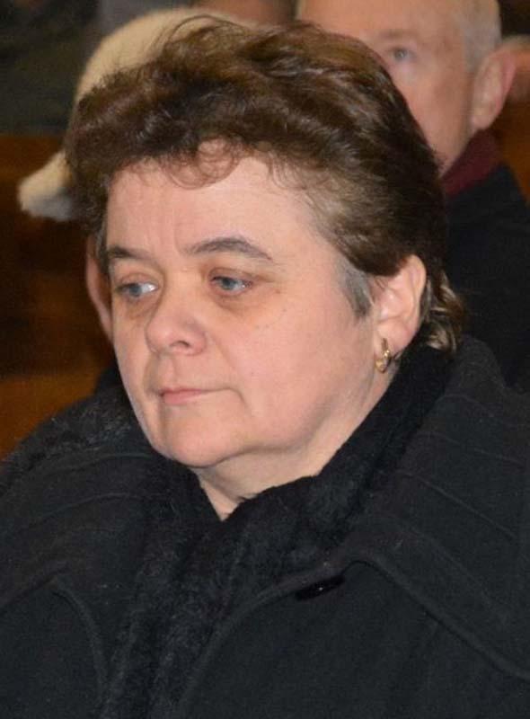 Csűry Anikó, soția episcopului Csury Istvan