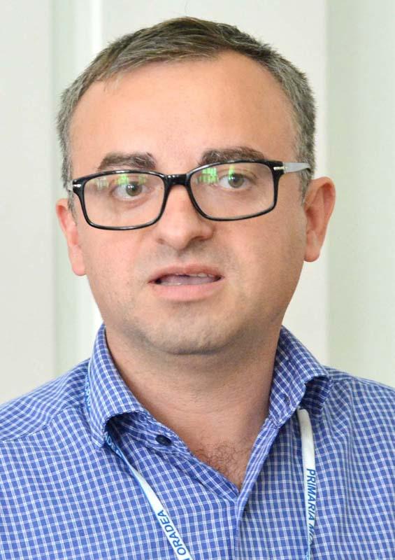 şeful Direcţiei Management Proiecte cu Finanţare Internaţională, Marius Moş