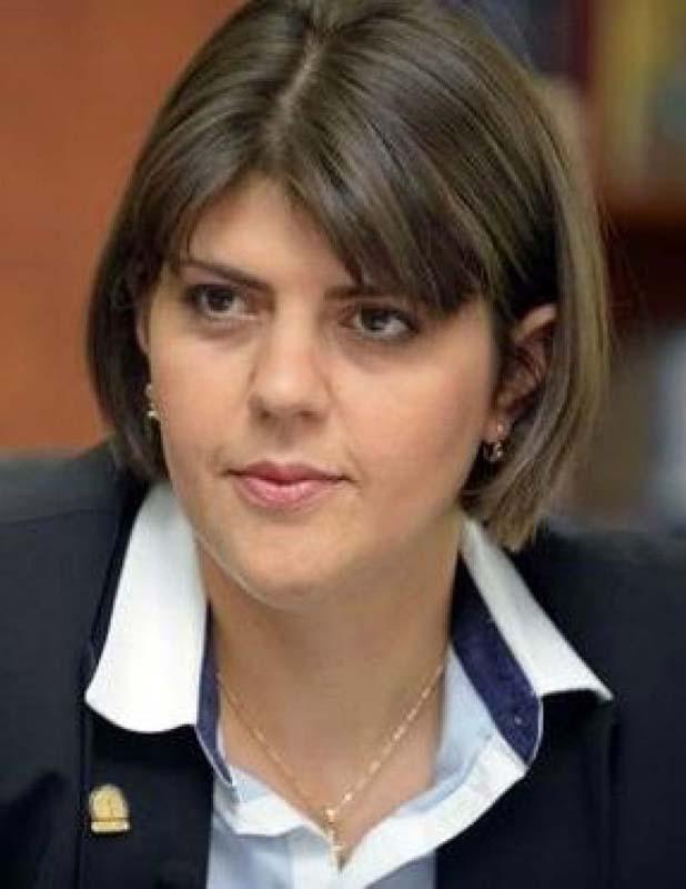 Laura Codruţa Kovesi, șefa DNA