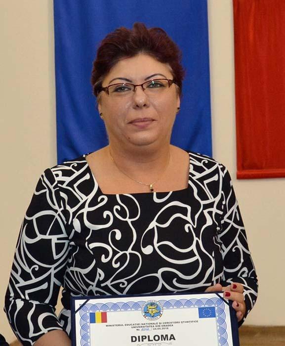 Madela Abrudan, Directoarea Departamentului de Management-Marketing, Universitatea din Oradea